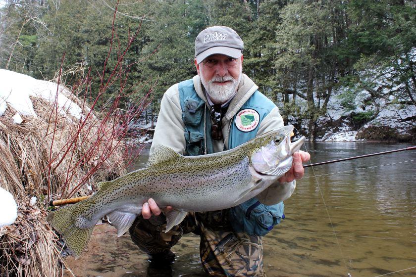 Matt Straw Steelhead Fishing