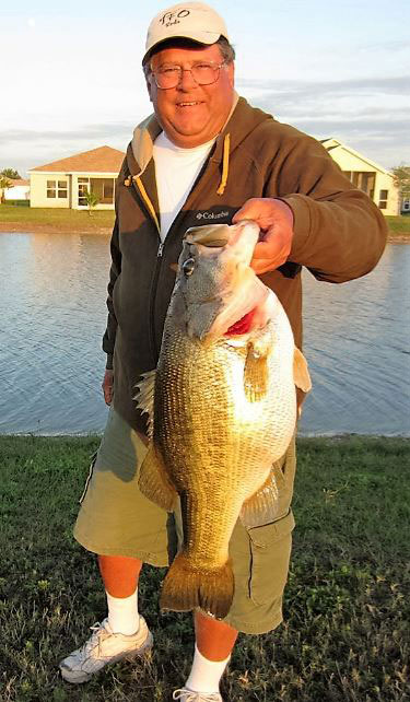 """Cold fronts are among the best times to catch big bass,"" says expert, Tom Marks. The proof is in the photograph!"
