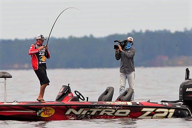 Kevin VanDam has been around the fishing world and he shares secrets with viewers here.