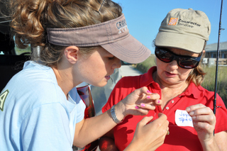 Ladies will learn knot tying, net casting, rod and reel rigging, responsible marine resource stewardship, marine fish and habitat identification, catch-and-release techniques, and more.  Photo courtesy of www.myfwc.com