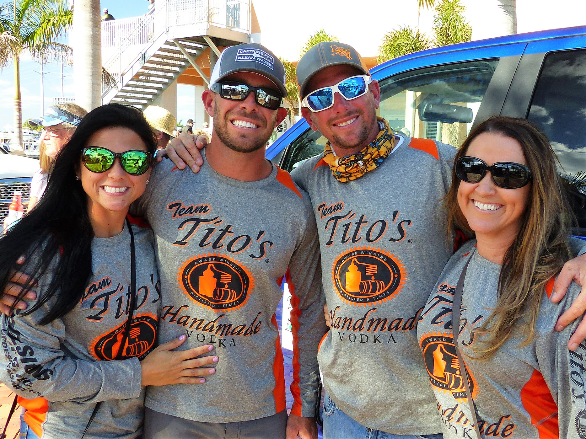 Kyle Potts and Shane Erhardt Team Tito's