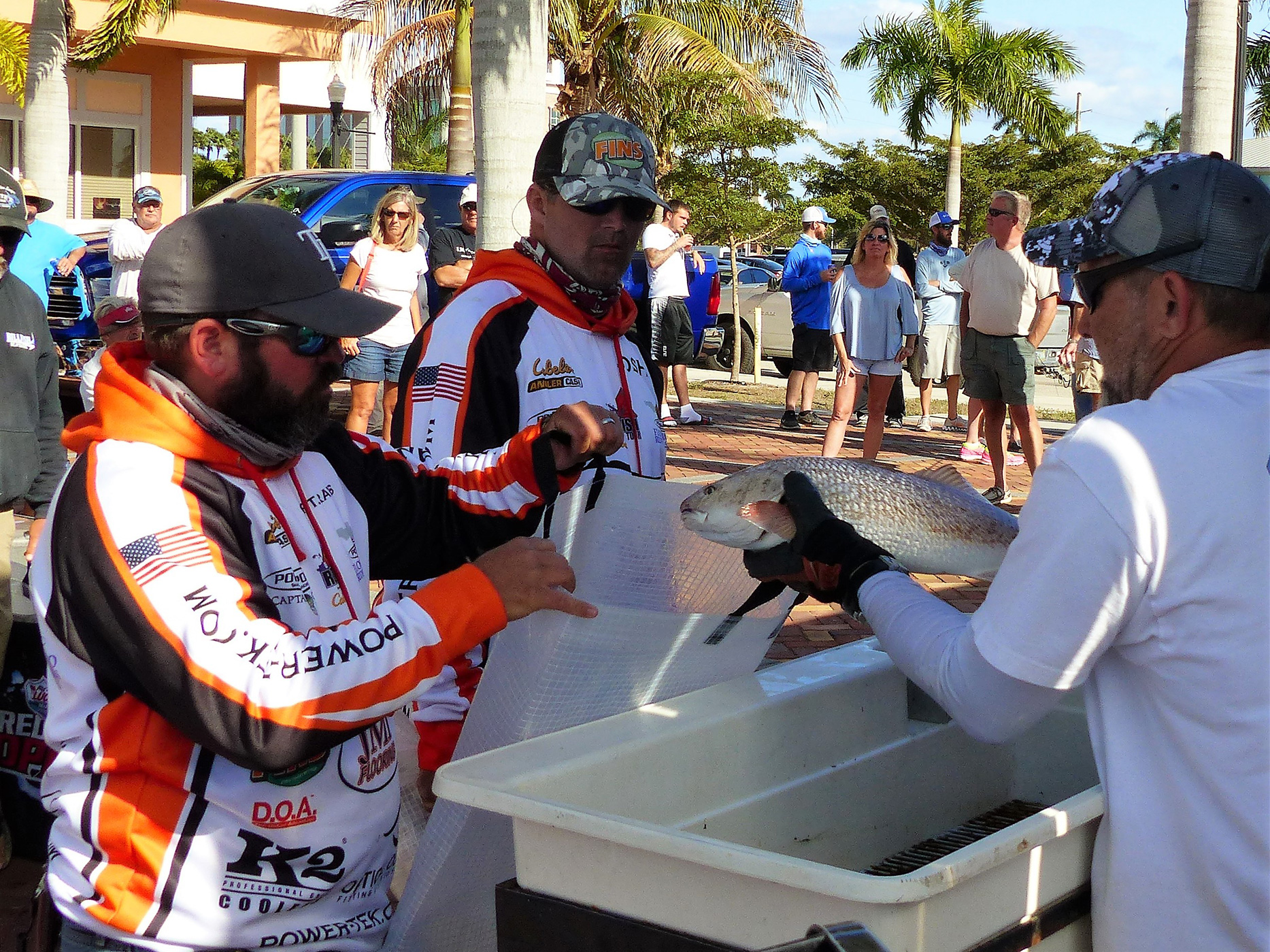 Redfish Tournament Weigh-in