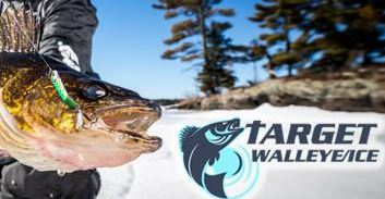 Ice Fishing Tips, VISIT TARGET WALLEYE.  Click Picture below.