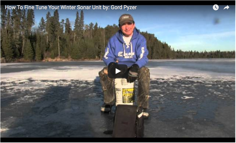 How To Fine Tune  Your Ice Fishing Sonar Unit