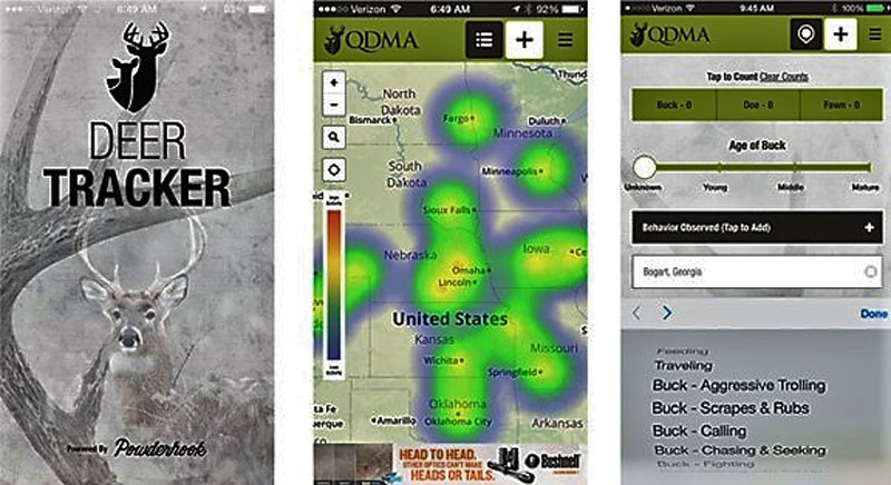 New Deer Tracker Mobile App is Effective and Free
