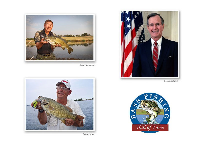 BASS FISHING HALL OF FAME ANNOUNCES 2016 INDUCTEES
