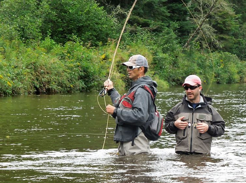 Adirondack Mountain Fishing Guides