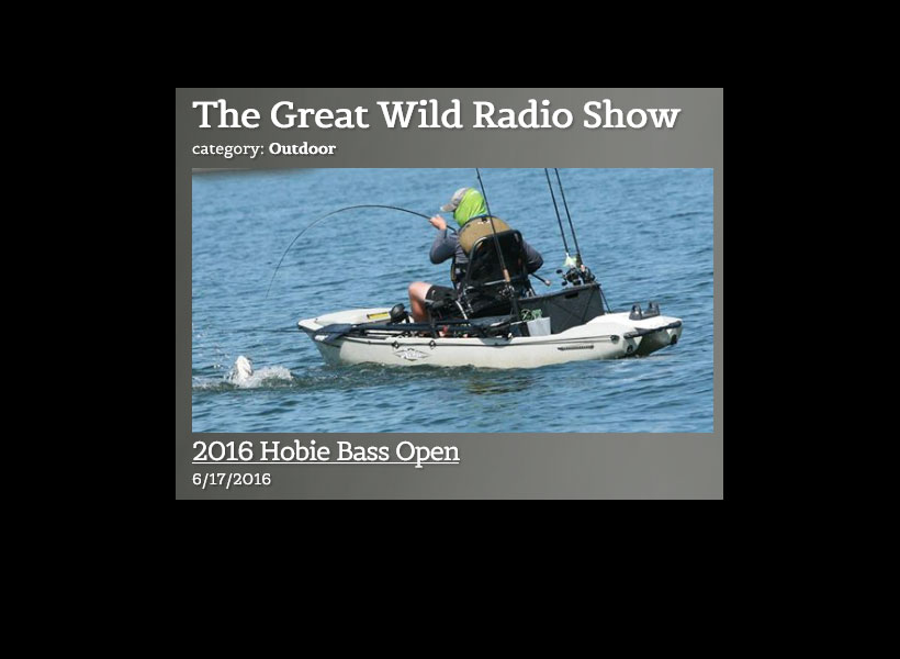 Hobie Kayak Fishing is HOT in America!