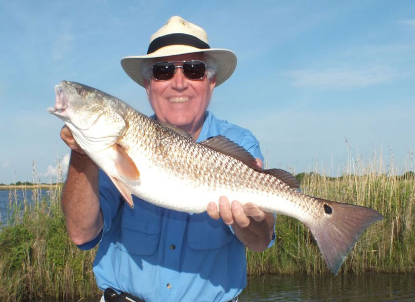 Sabine Lake, Louisiana Redfish