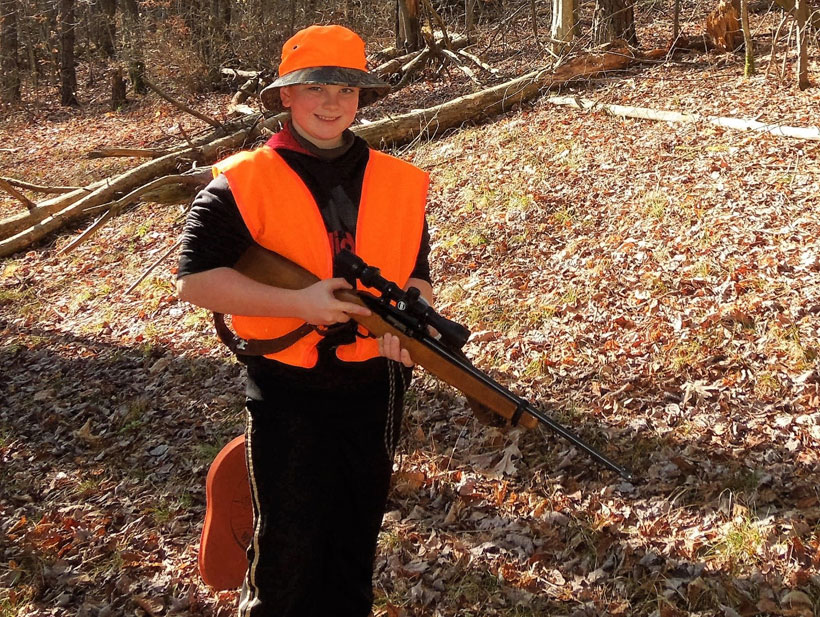 Youth Ready for Big Game Hunt in New York