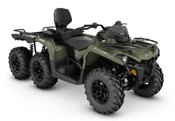 Can-Am Outlander MAX 6x6 DPS ATV...Get 'Er Done, it's Hunting Season