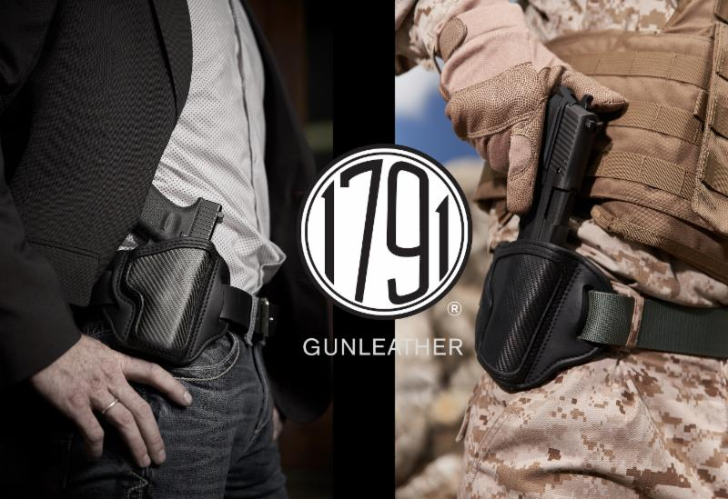 1791 GUNLEATHER Debuts First-Ever HOLSTER Combining CARBON FIBER w/PREMIUM GUNLEATHER