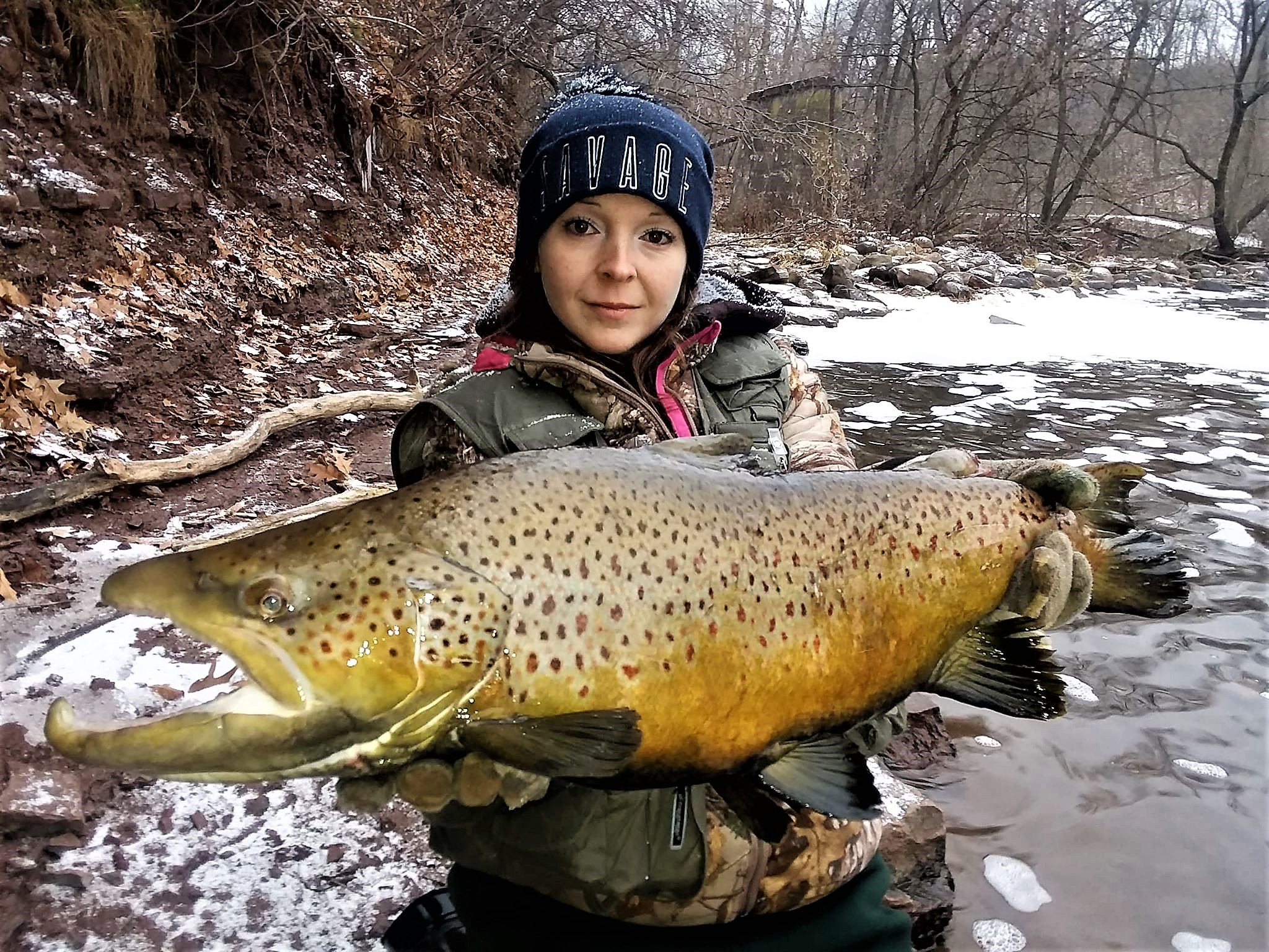 Brown Trout, Walleye, Steelhead Dominate the Niagara Region Winter Fishing Action