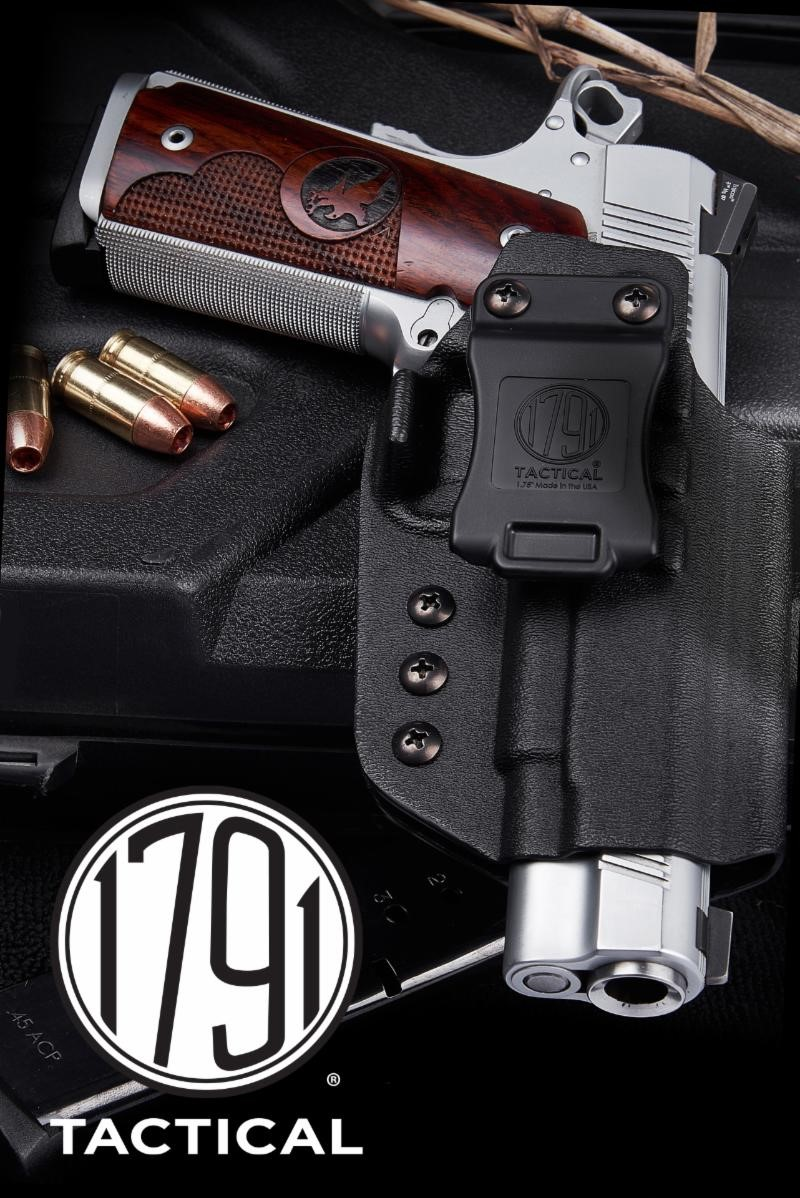 1791 GUNLEATHER Launches 1791 Tactical KYDEX LINE
