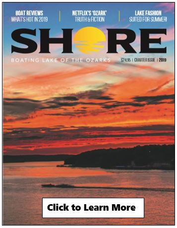 Shore Magazine, NEW for Lake of the Ozarks
