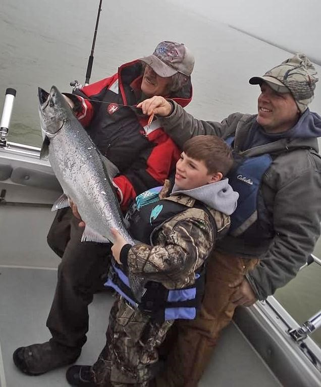LAKE ONTARIO, Orleans County, NY – Fishing Report by Capt. John /Tight Lines Charters