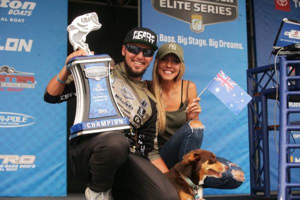 On Lake Tenkiller, Australian Pro Jocumsen Scores Bassmaster Elite Series Victory