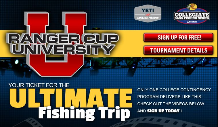Ranger Cup University - Opportunity for Collegiate Anglers