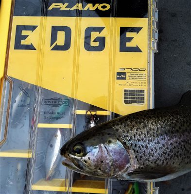 Gain an EDGE out there - Keep Your Fishing Gear Tidy (especially in a boat!)