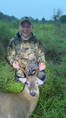 Florida Youth Hunting - First Deer for Kingston, 11-years old