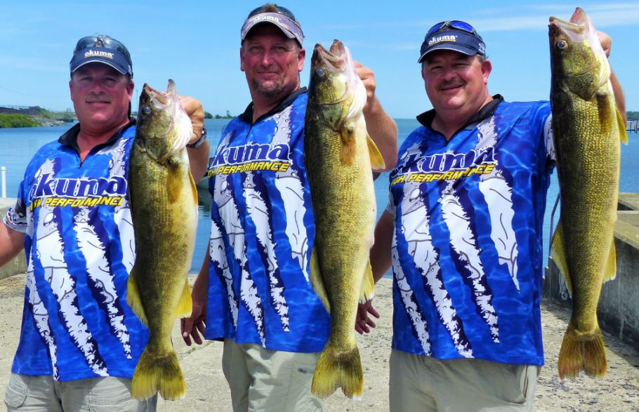Walleye Move to Find Forage in Eastern Basin Lake Erie