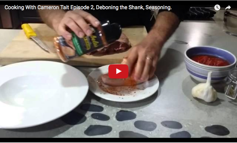 Episode 2: Learn how to debone the hind quarter and remove the flavorful shank.