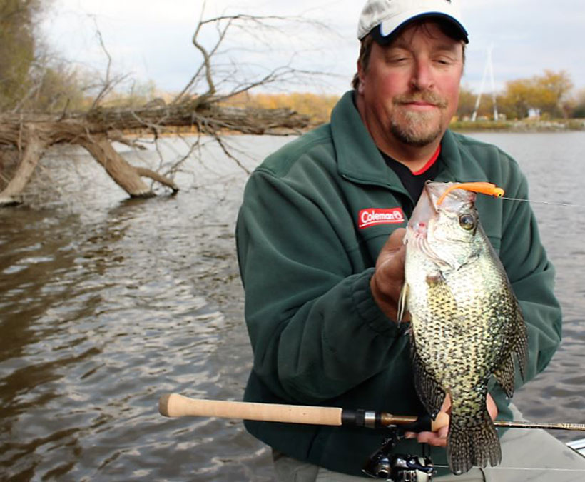 Spring Crappies: Wood to Weeds Dynamics