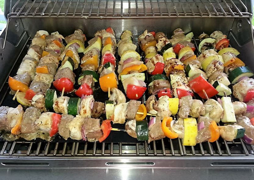 Venison Kabobs - Colorful, Healthy, Delicious
