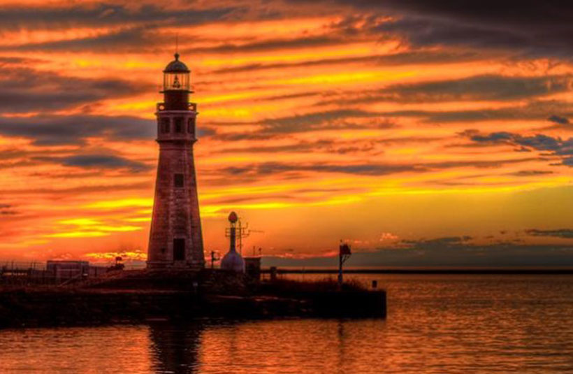 Waterfront Sunsets are Blazing and Breathtaking