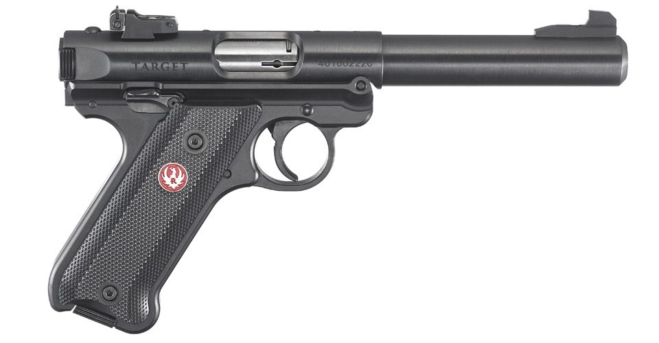 New Ruger Rimfire, 1-Button Takedown