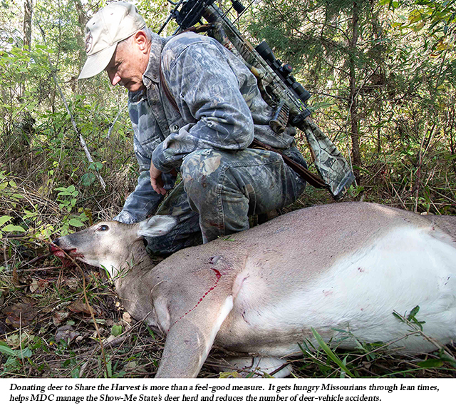 Missouri Hunters Share the Bounty