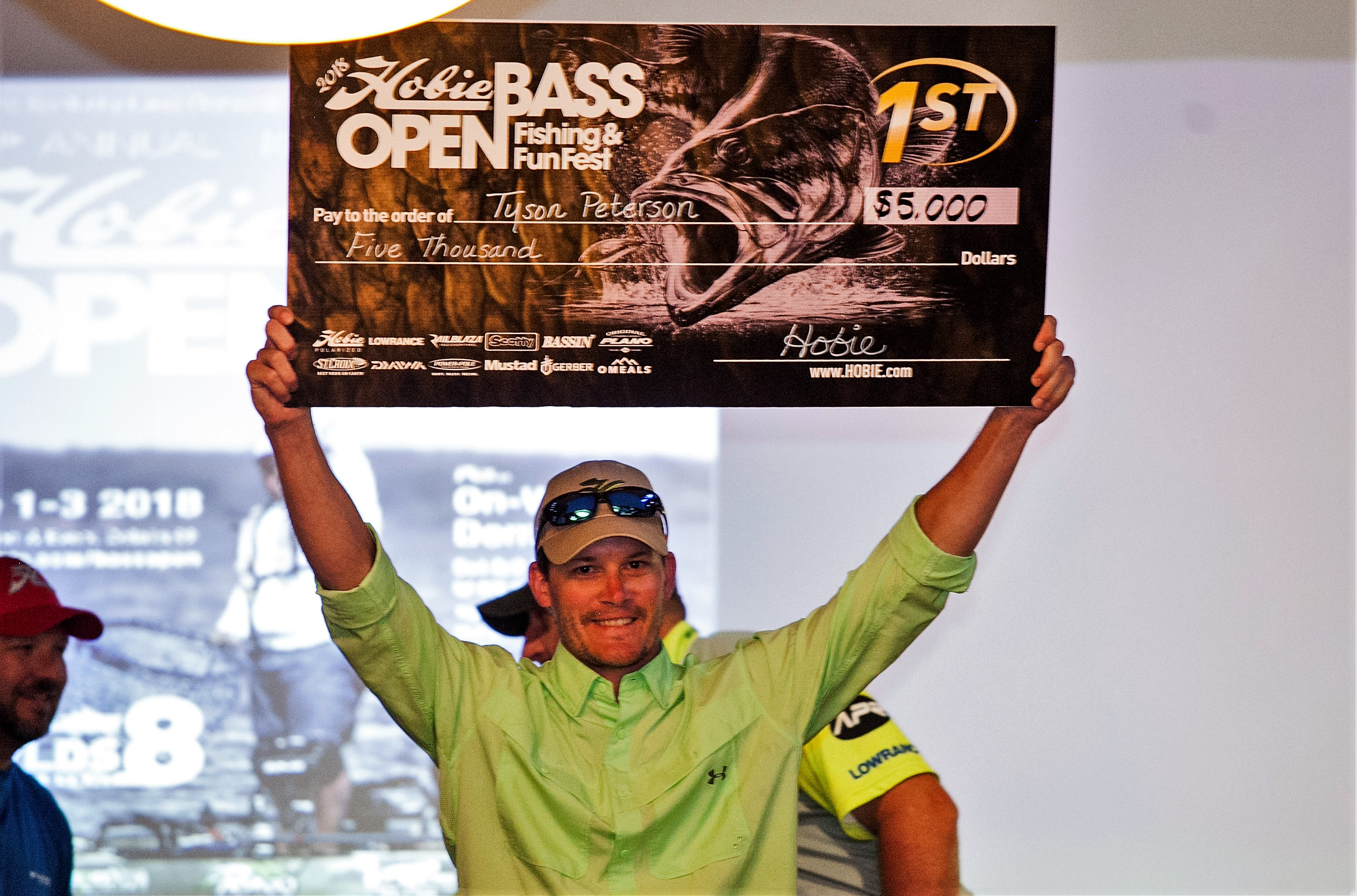 Hobie Bass Open 2018: Tyson Peterson first to repeat as Hobie Bass Open champion, returns to Hobie World Event