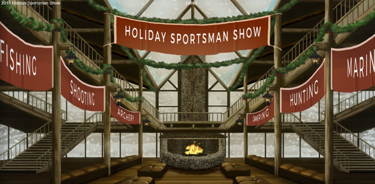Holiday Sportsman Show Online Open for Business