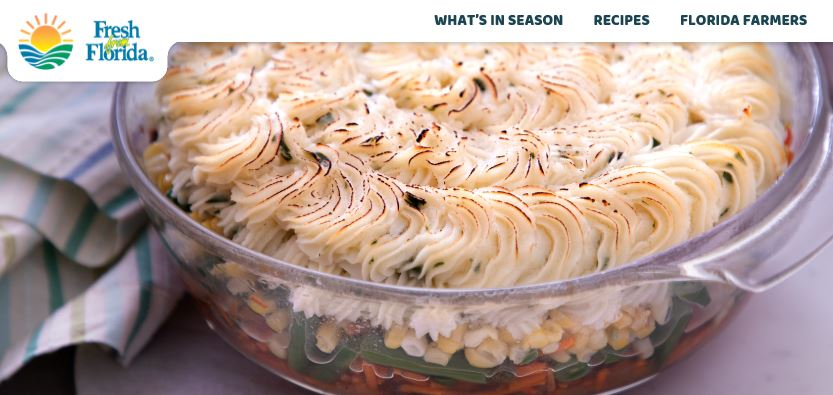 Wild Turkey Cottage Pie...A Fresh Florida Recipe that works all across the USA