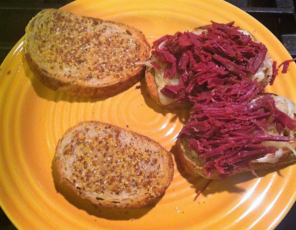 Venison Reuben, from the kitchen of Charlie Killmaster - Georgia State Deer Biologist