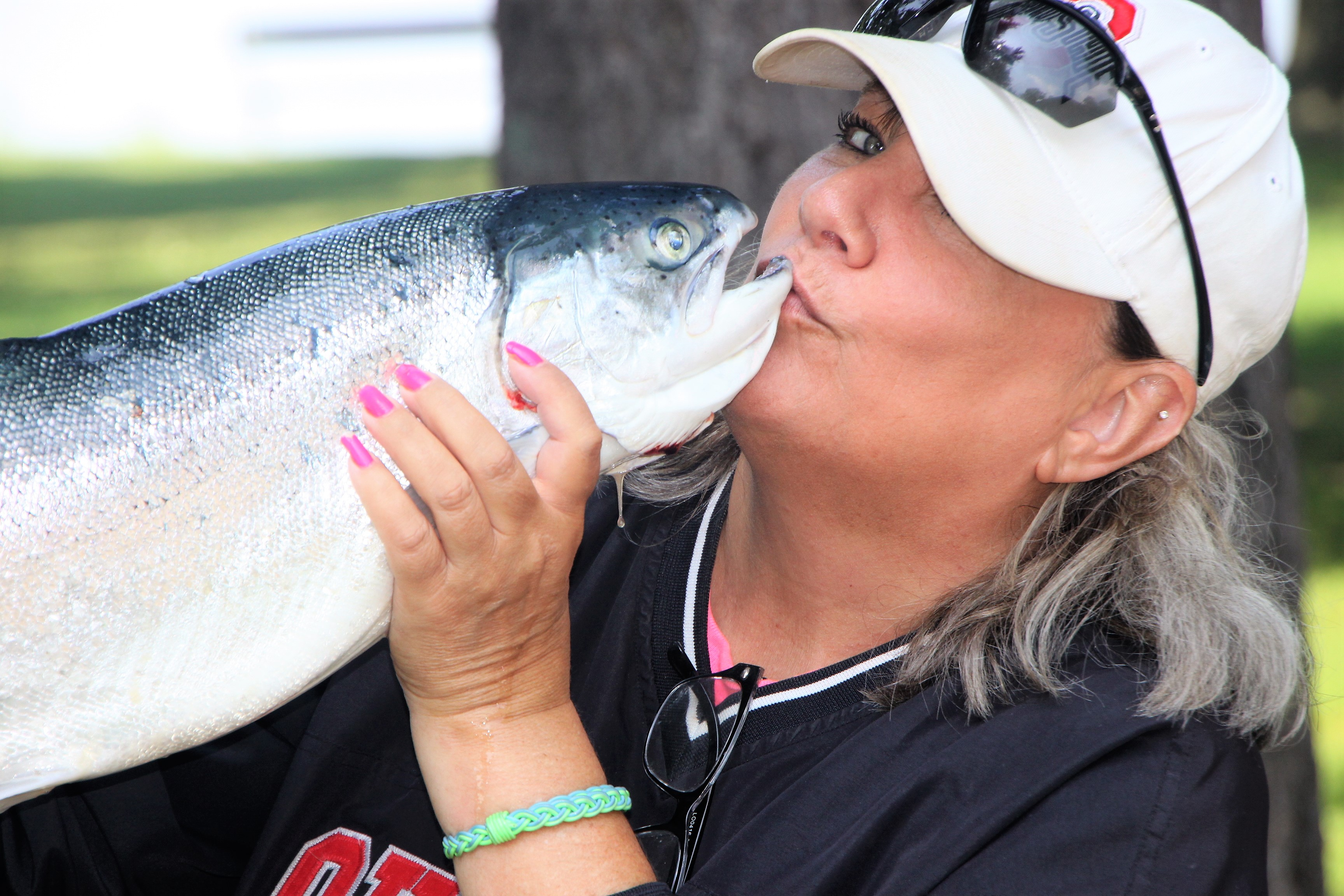 Derby's Abound with King-Kong Salmon and Big Walleye