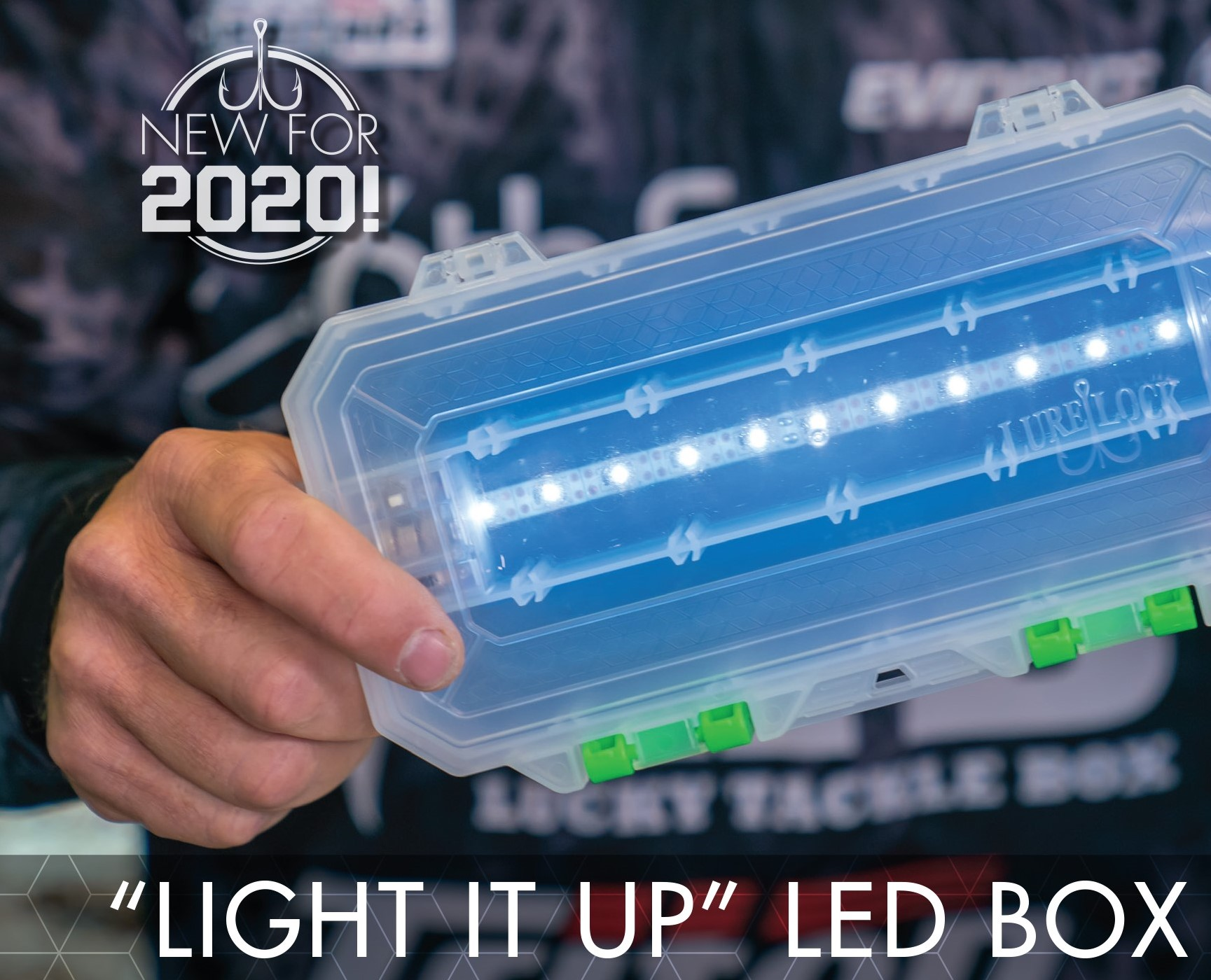Light-up your Night Tackle, Charge-up your Glow Baits