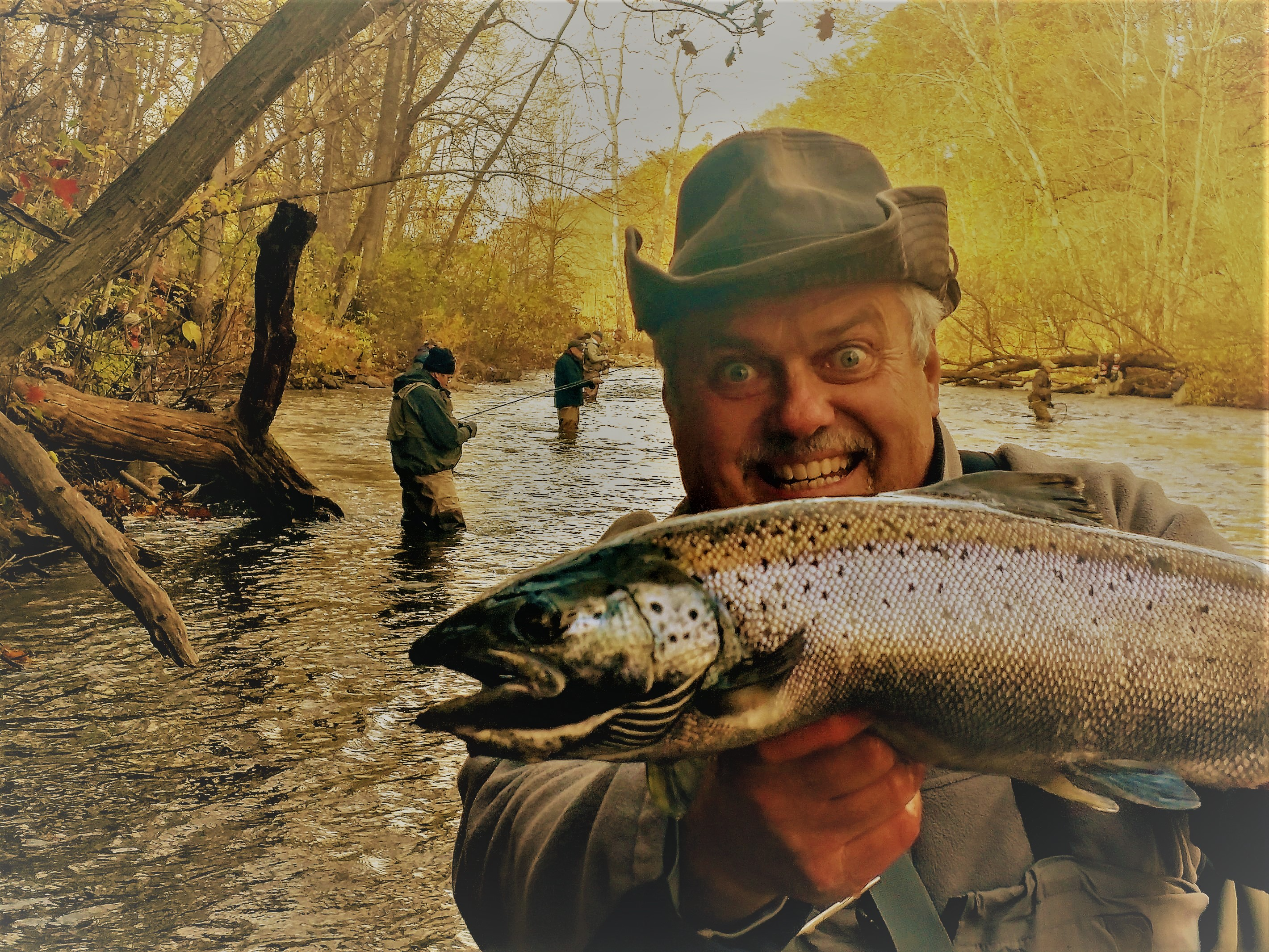 Oak Orchard River FISHING REPORT from Orleans County, NY